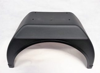 Fender - Single Rear Wheel - UK Dropside - 111040 - VFS Ltd