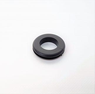 Grommet - Wiring 25x44x30mm - PVC Black - VFSH12-0273 - VFS Ltd