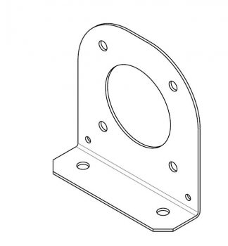 Bracket - PA Speaker to RNLI Frame - VFS98-99-0214 - VFS Ltd