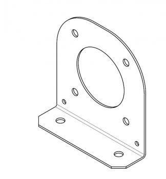 Bracket - PA Speaker to RNLI Frame - VFS98-99-0214 - VFS Ltd