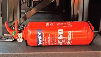 Fire Extinguisher - 2kg Dry Powder ABC Type- VFSG21-0211