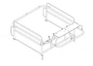 Frame Assy - Load Bed for Rescue Boards for RNLI - VFS01-14-244