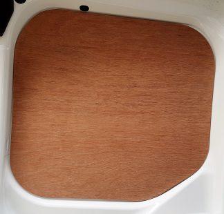 Ply Lining - LH Rear Door Top Window - 6mm Marine Plywood - VFS01-21-002